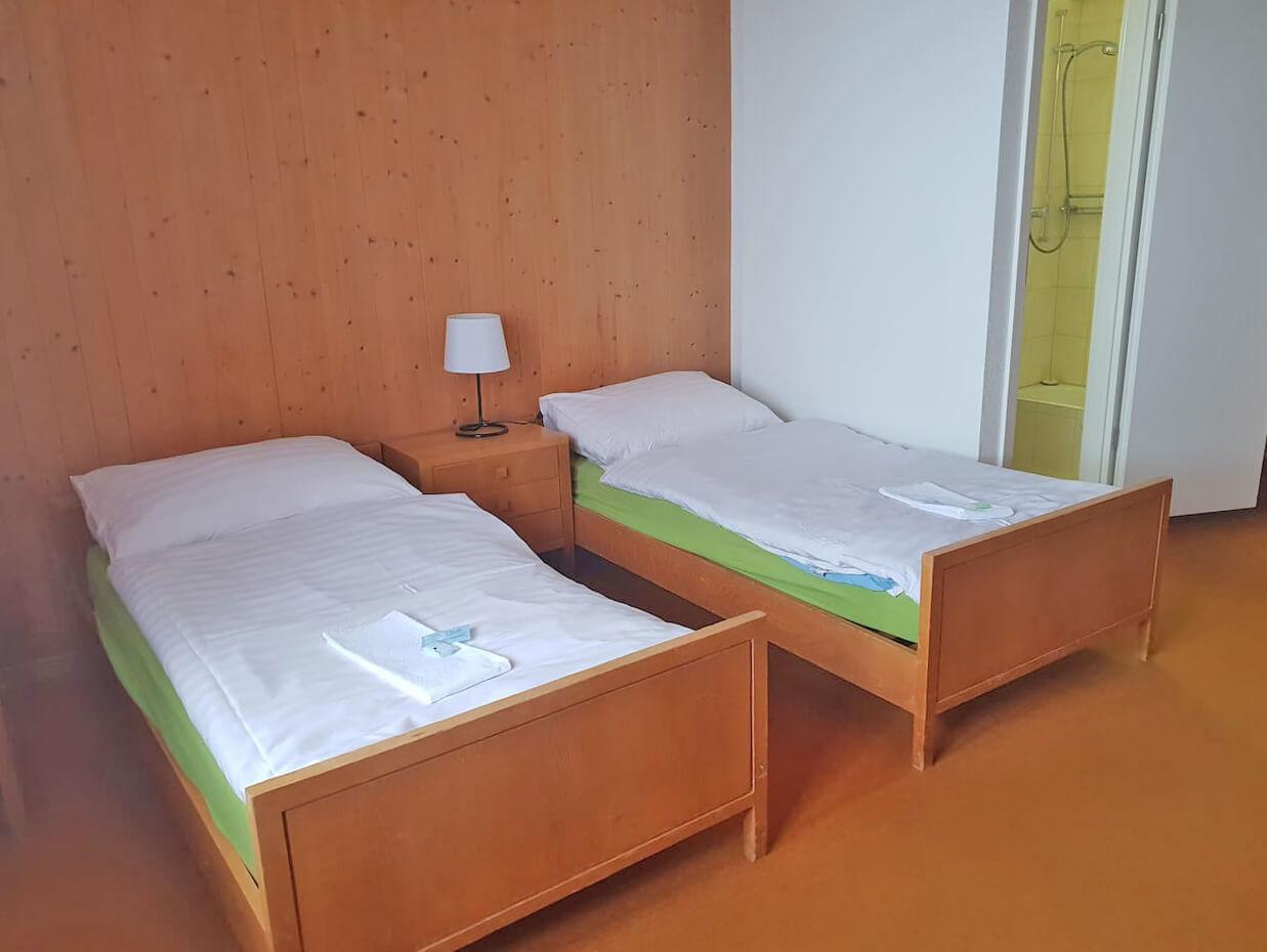 Doppelzimmer Einzelbett