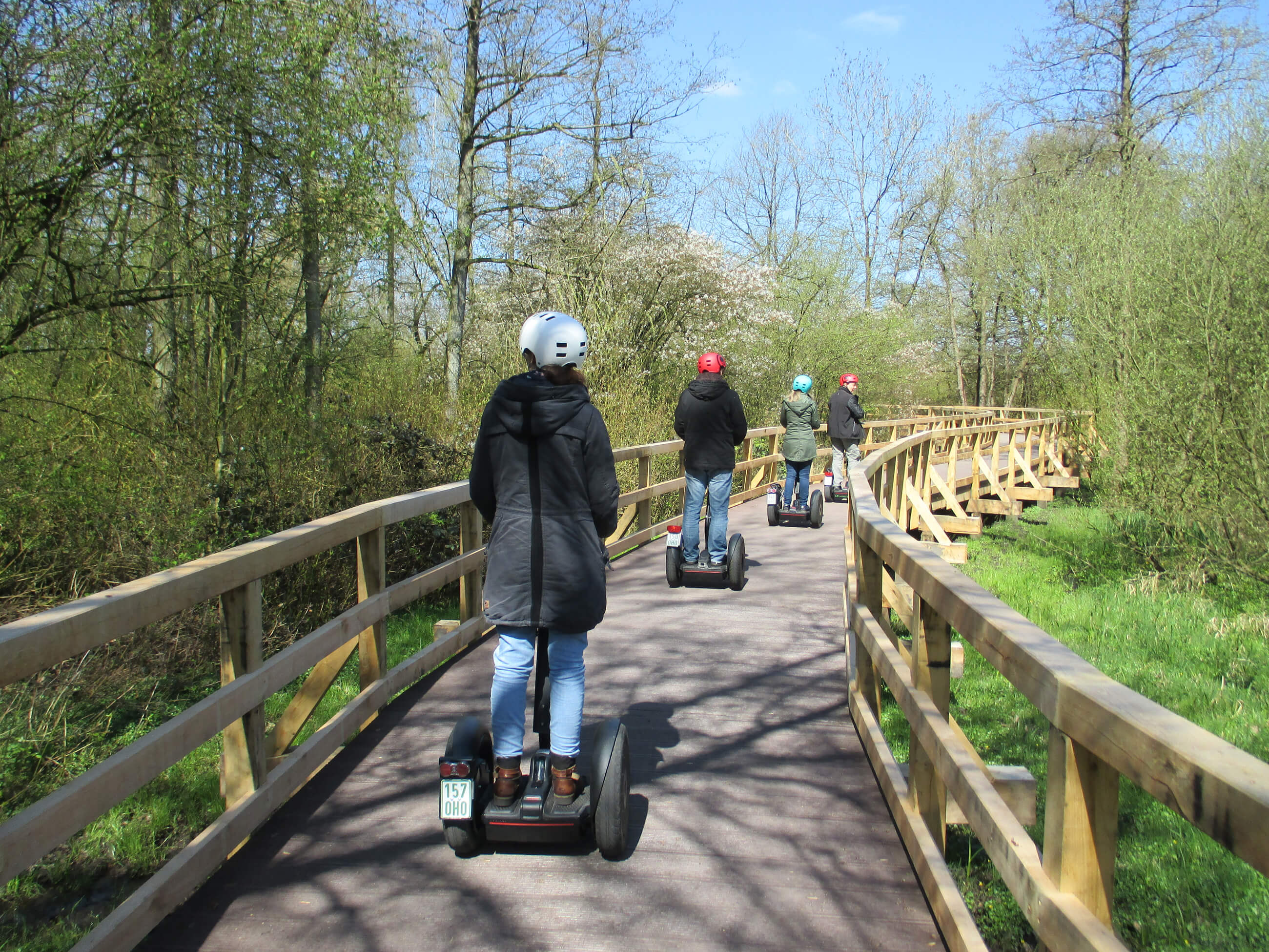 Segway-Touren in Bad Zwischenahn