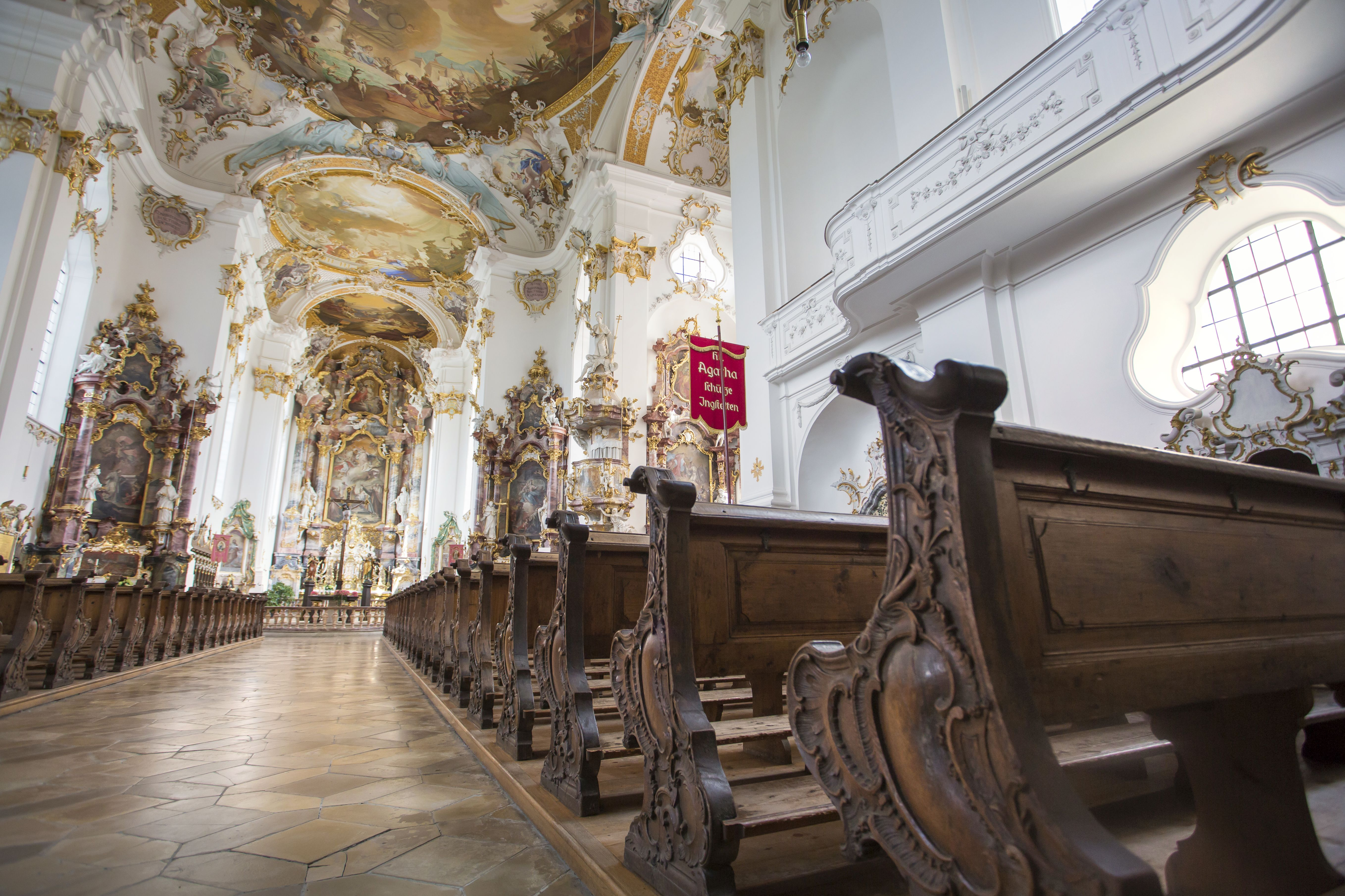 Klosterkirche im Kloster Roggenburg
