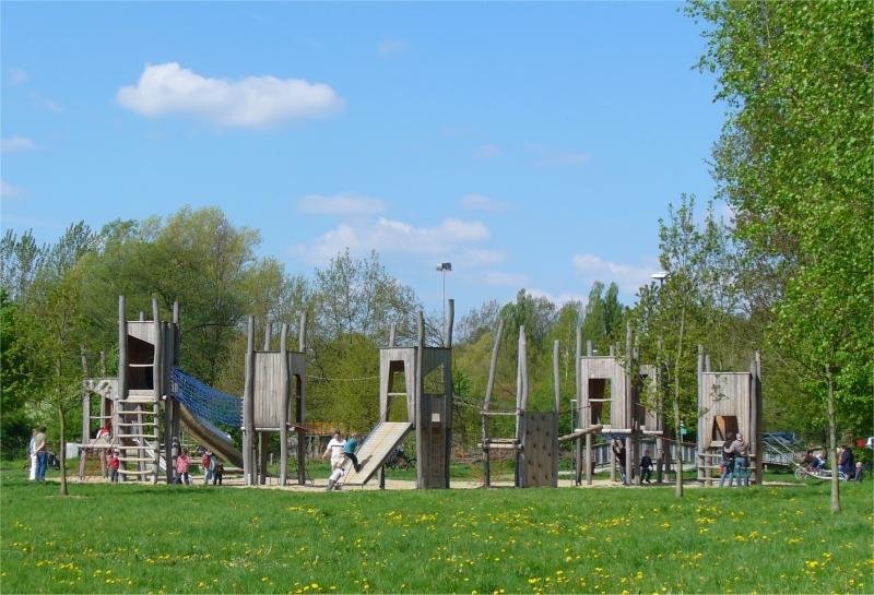 Spielplatz am Lippesee-Nordufer