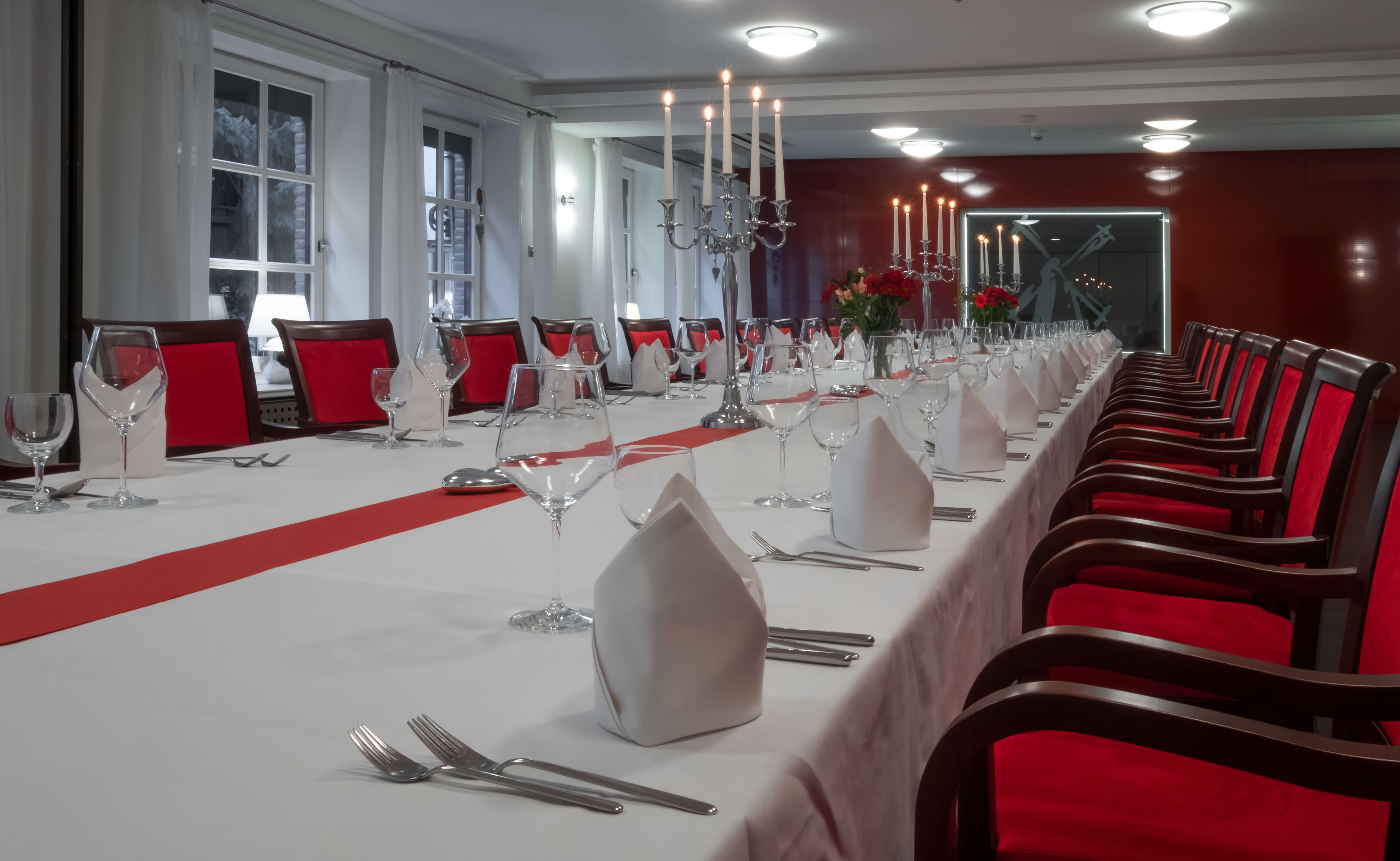 Restaurant Alte Mühle Gesellschaftstisch