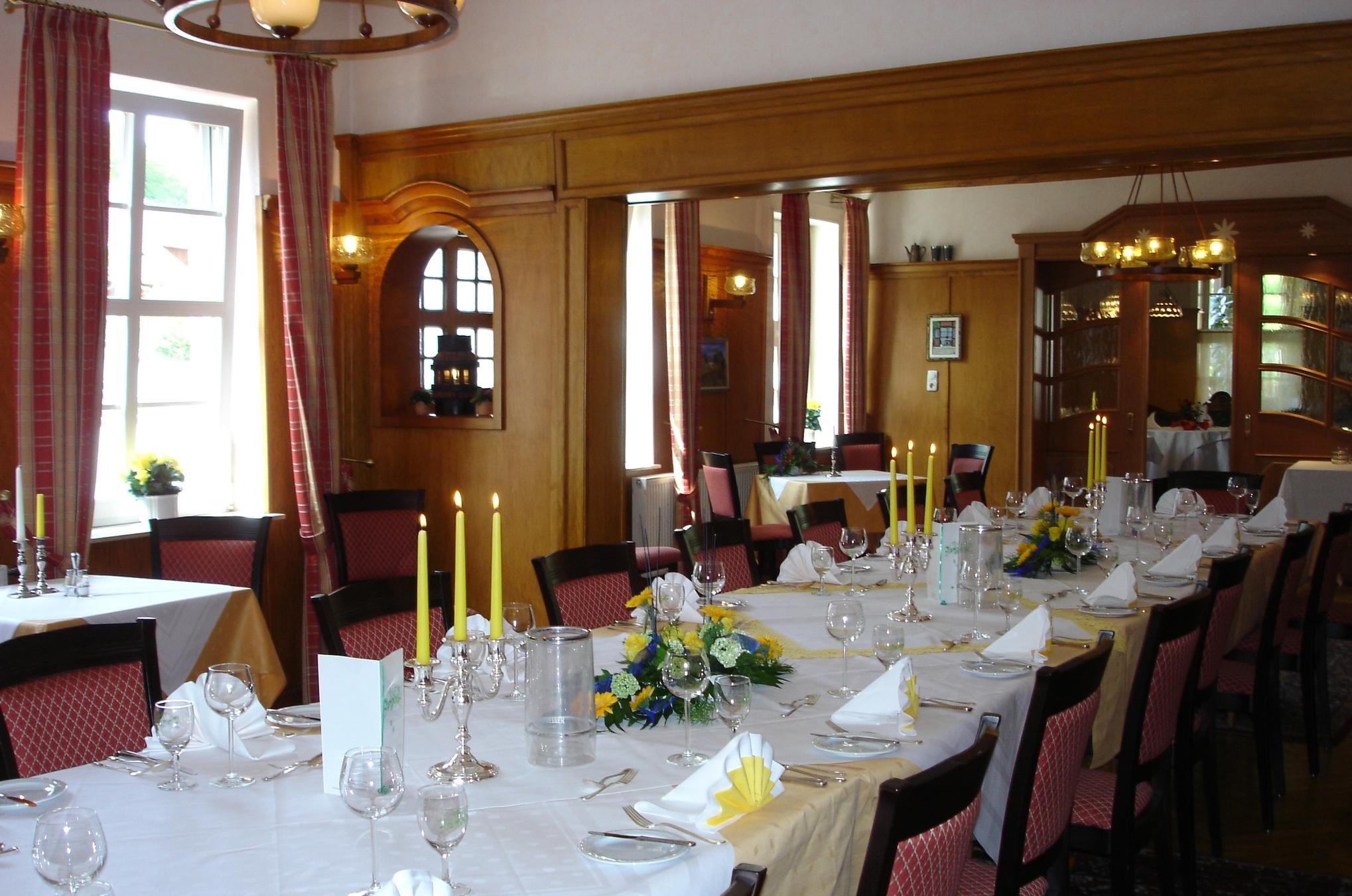 Gastraum im Restaurant Zur Linde