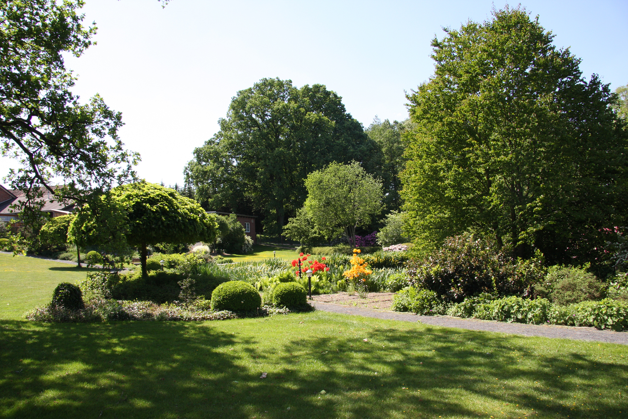 Heidecafé Bartels - Gartenanlage