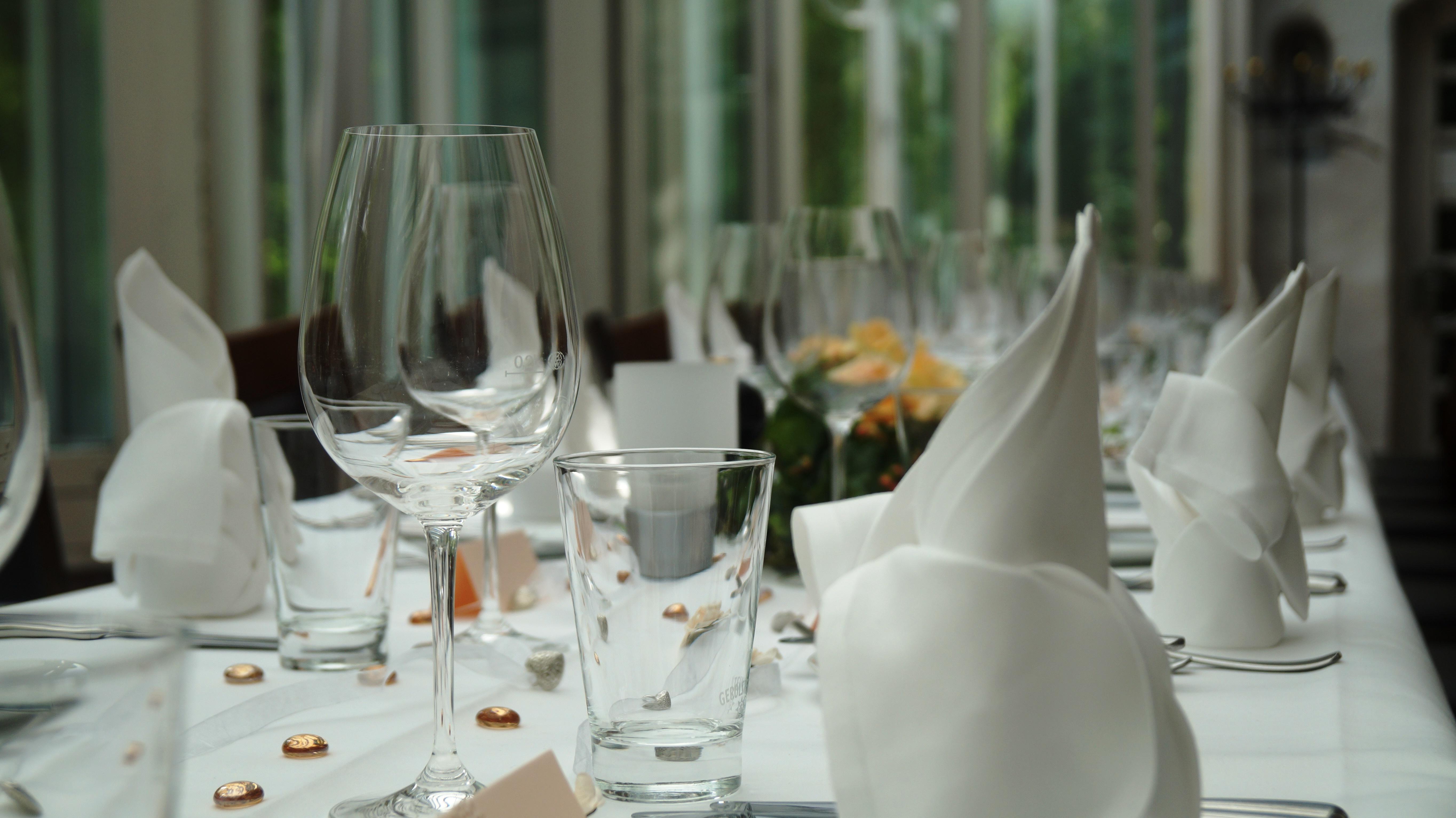 Detailansicht Tafel Schlossrestaurant Zentgraf