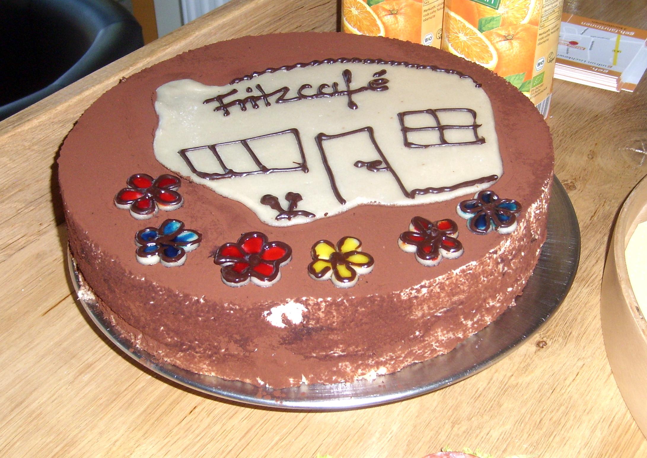 Torte im Fritzcafé