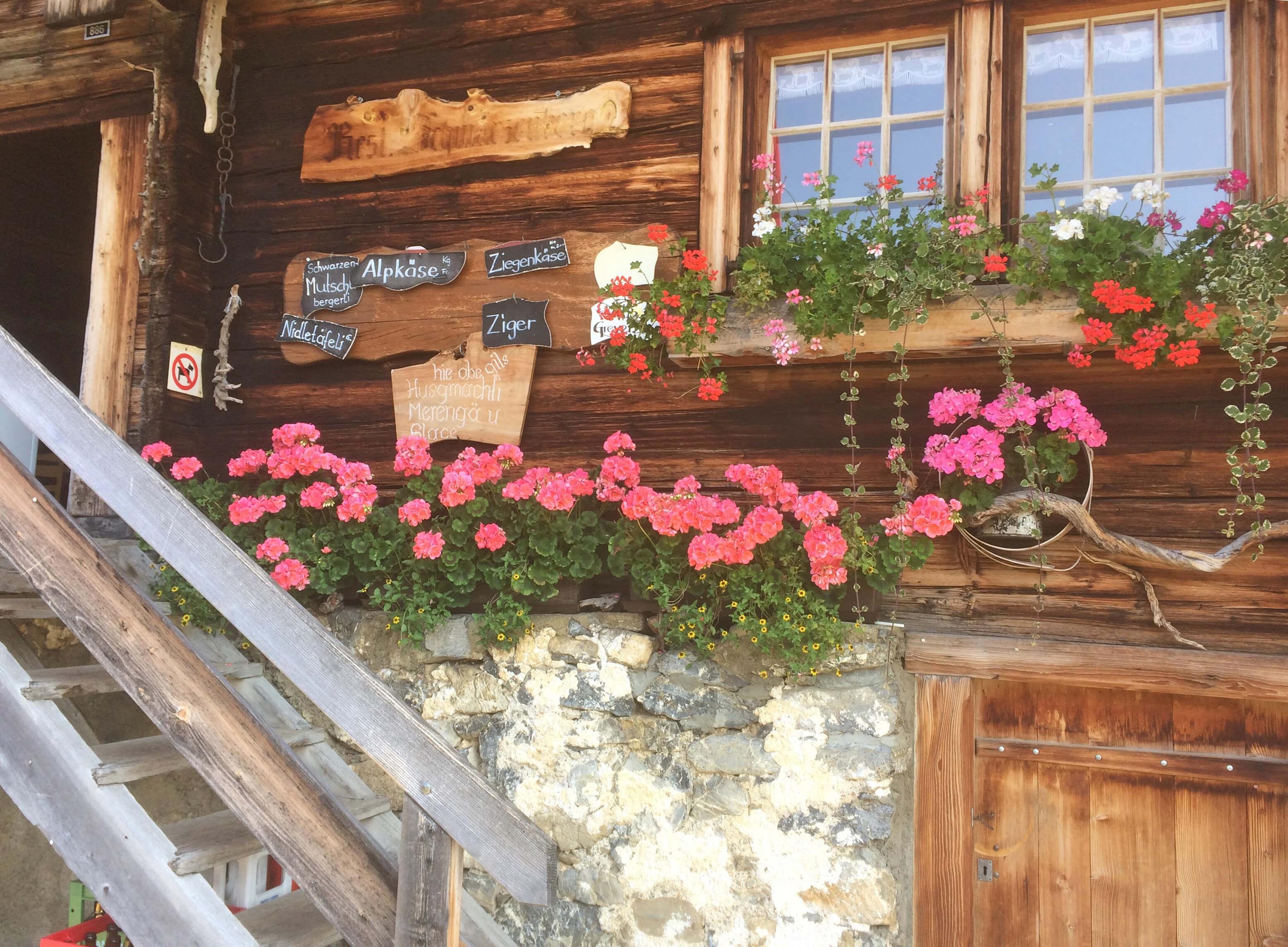 Bergrestaurant Schwarzenberg Eingangsbereich
