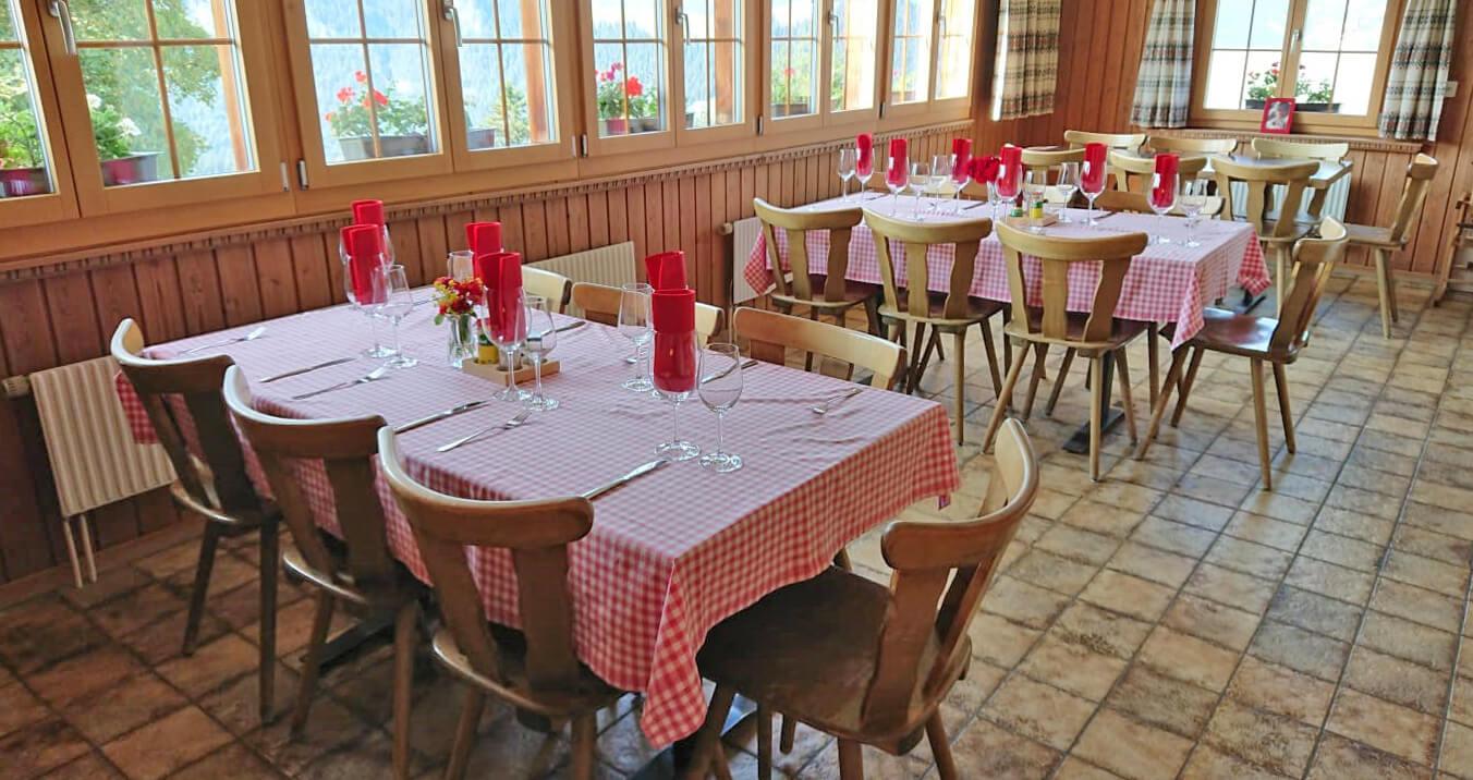 Restaurant Springenboden Gaststube