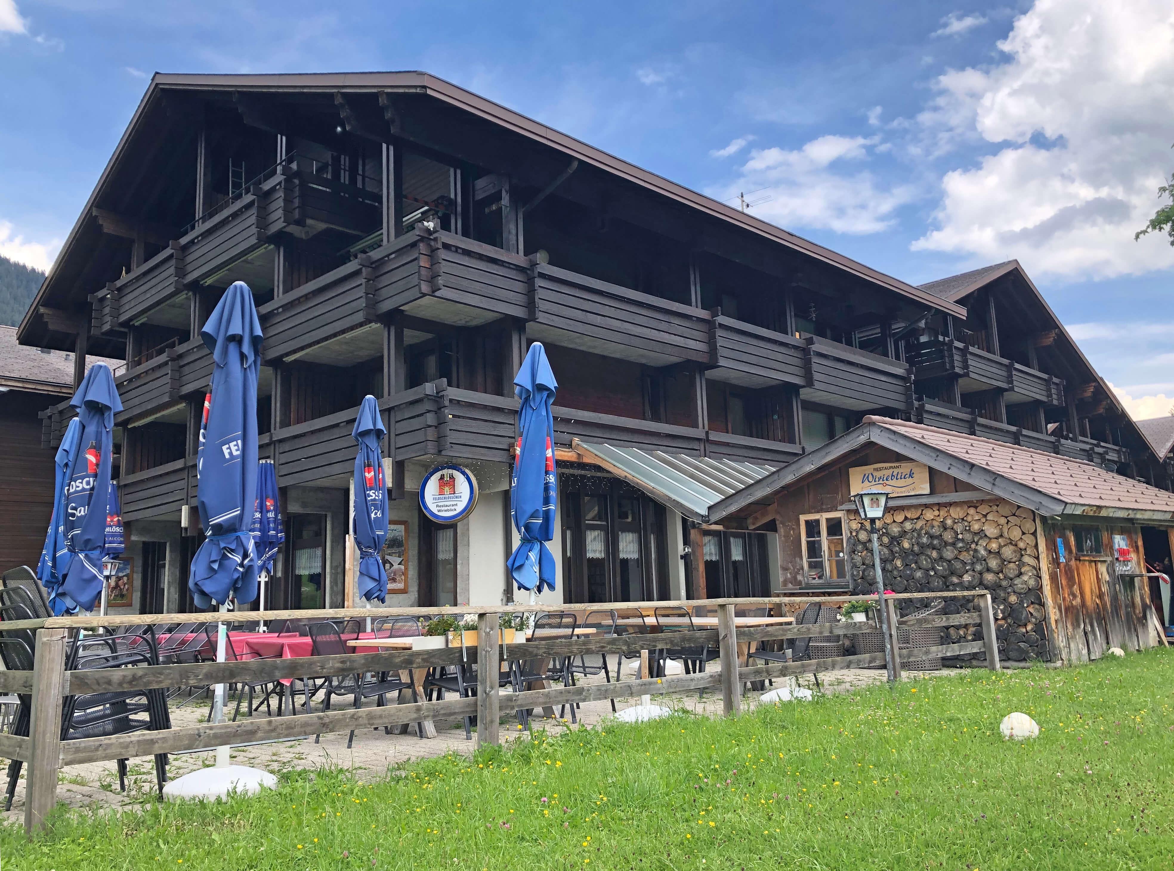 Restaurant Wirieblick Aussenansicht