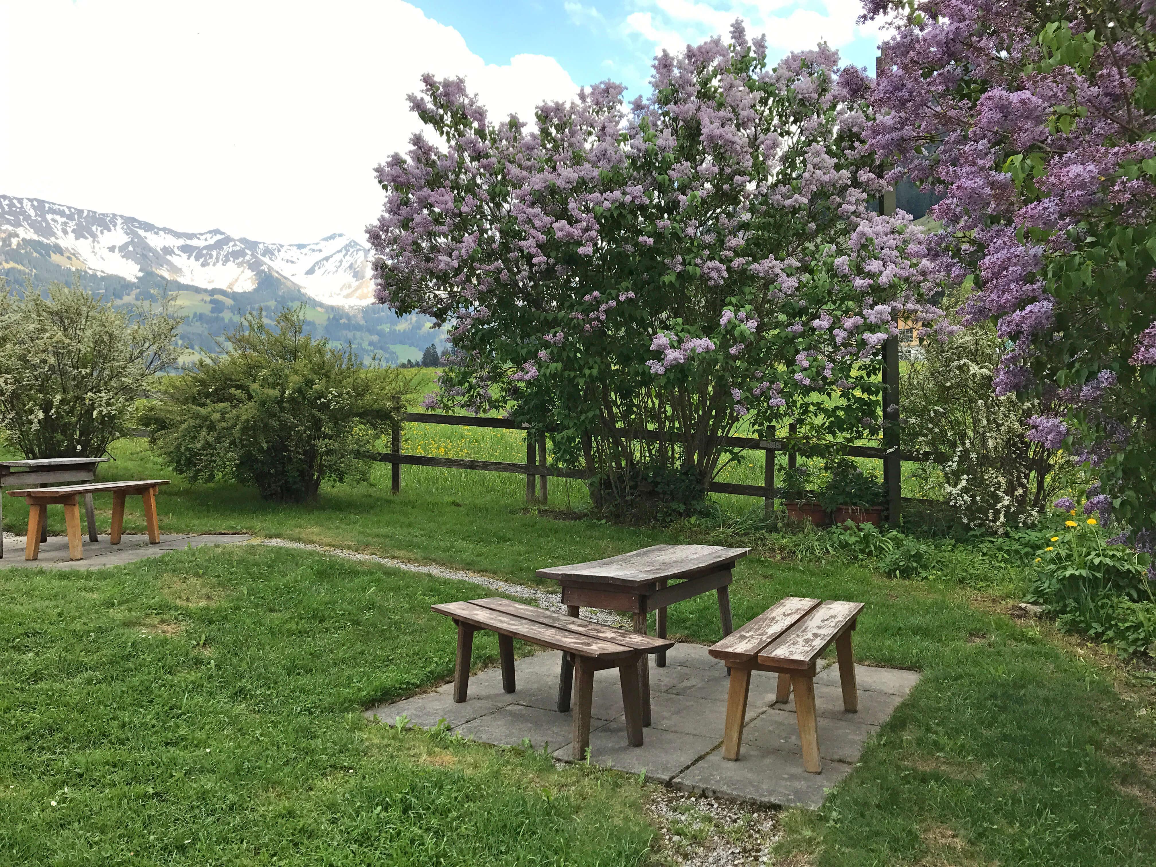 Garten Sitzbank Bergli