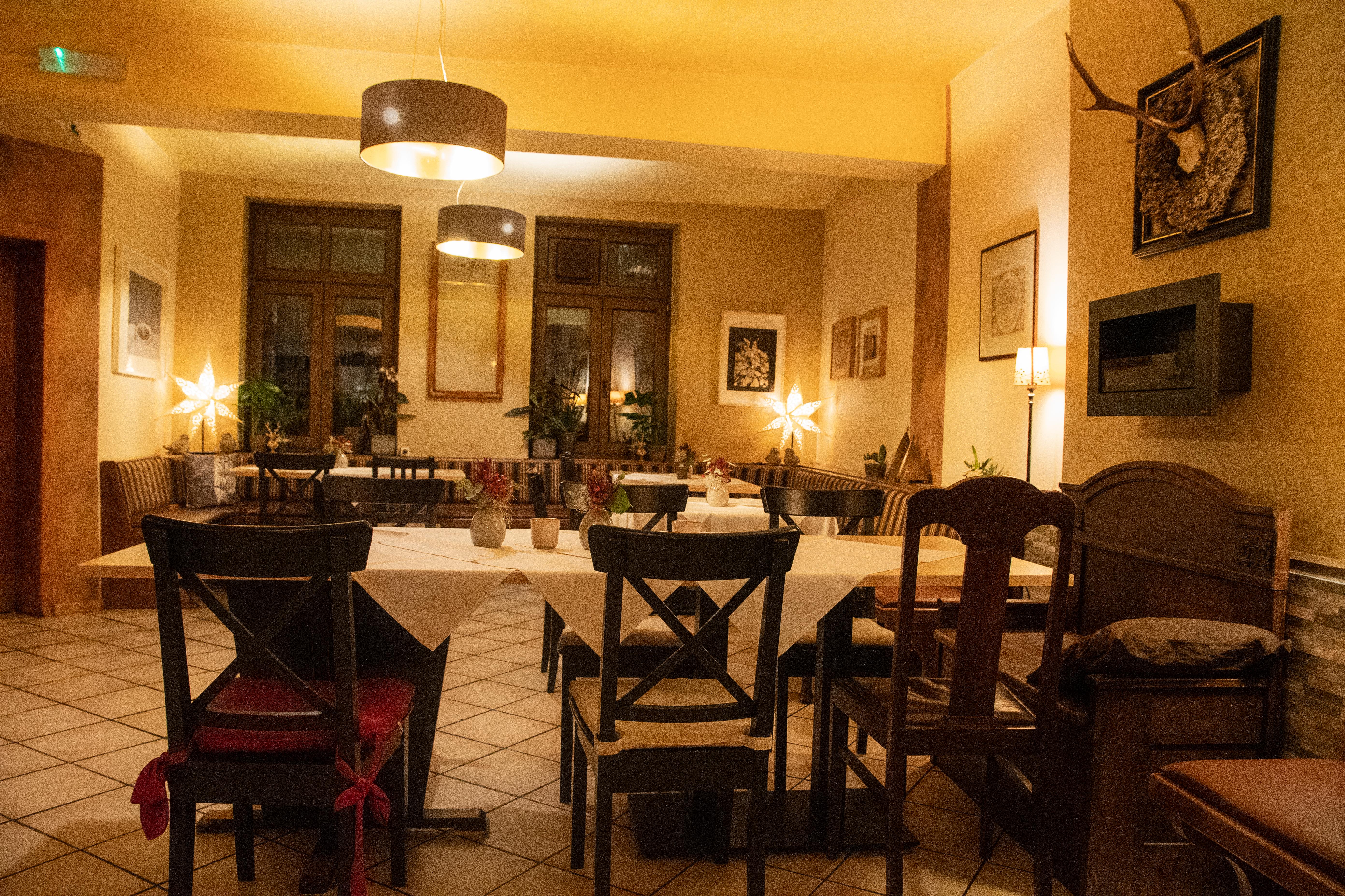 """Gasthaus """"Zum Stern"""" Innenansicht"""