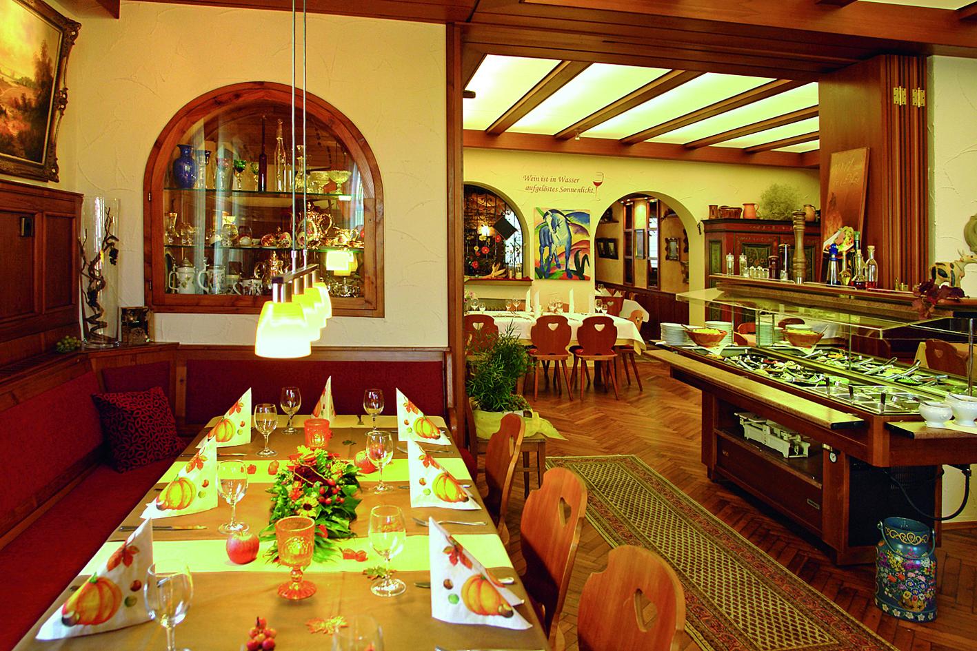 Gasthof Ochsen, Speisesaal