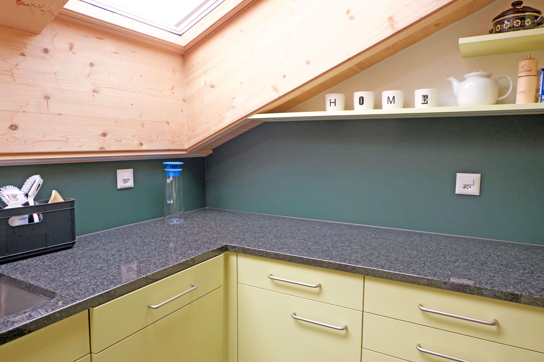 Küche Dachfenster