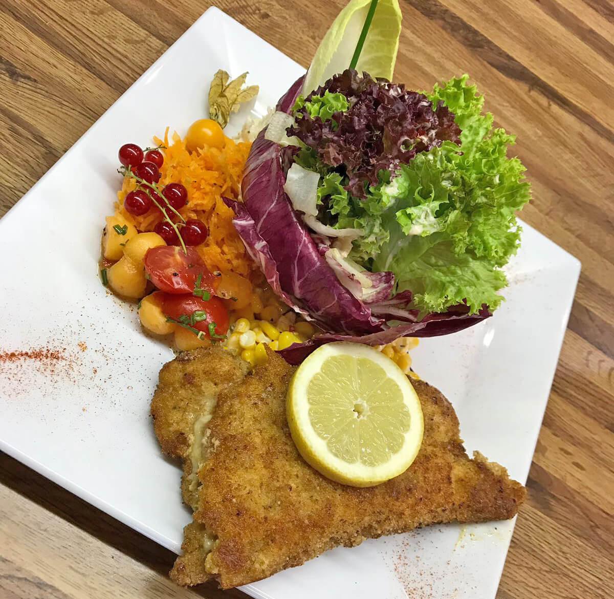 Restaurant Wirieblick Essen Cordon Bleu