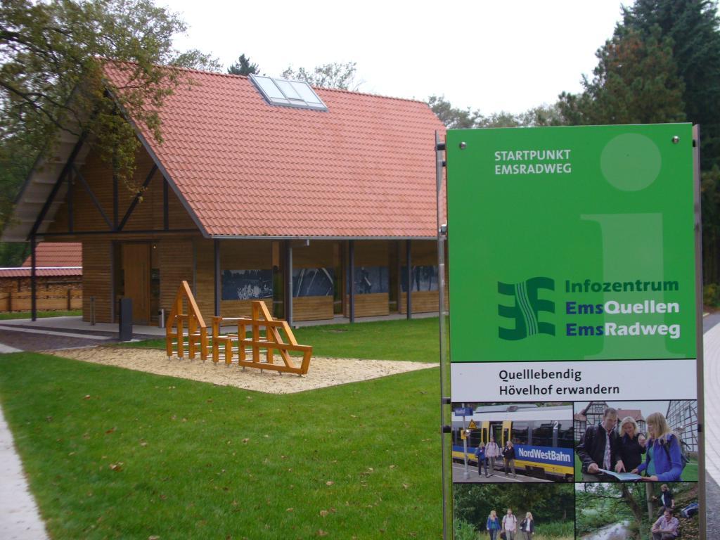 Infozentrum Emsquellen und Emsradweg