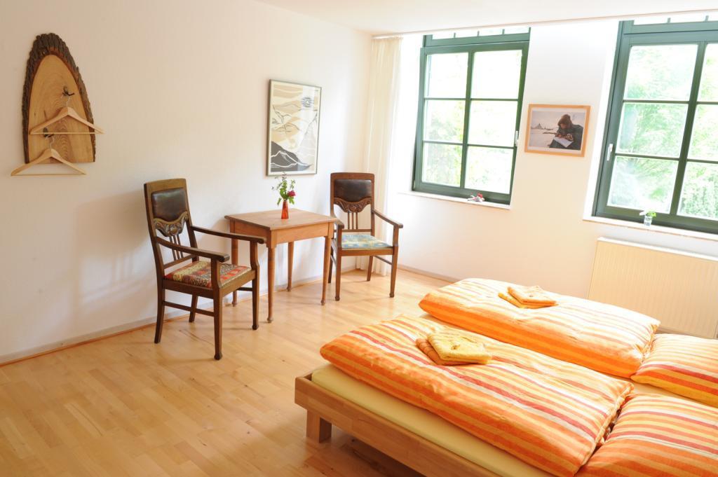 Zimmer in der Pension Alte Schule Leopoldstal