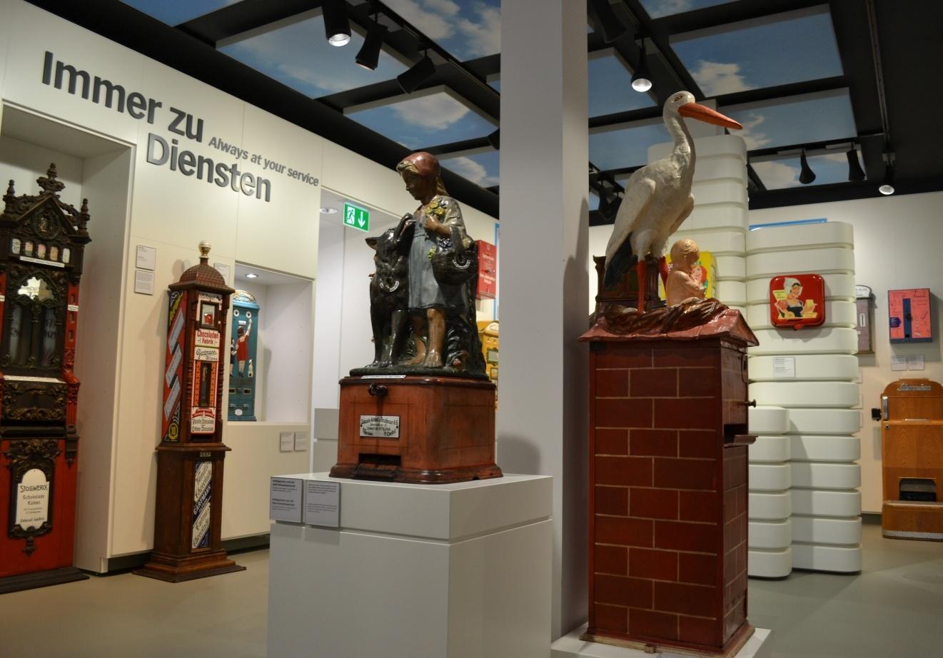 Deutsches Automatenmuseum Espelkamp - Ausstellung Waren und Dienstleistungen