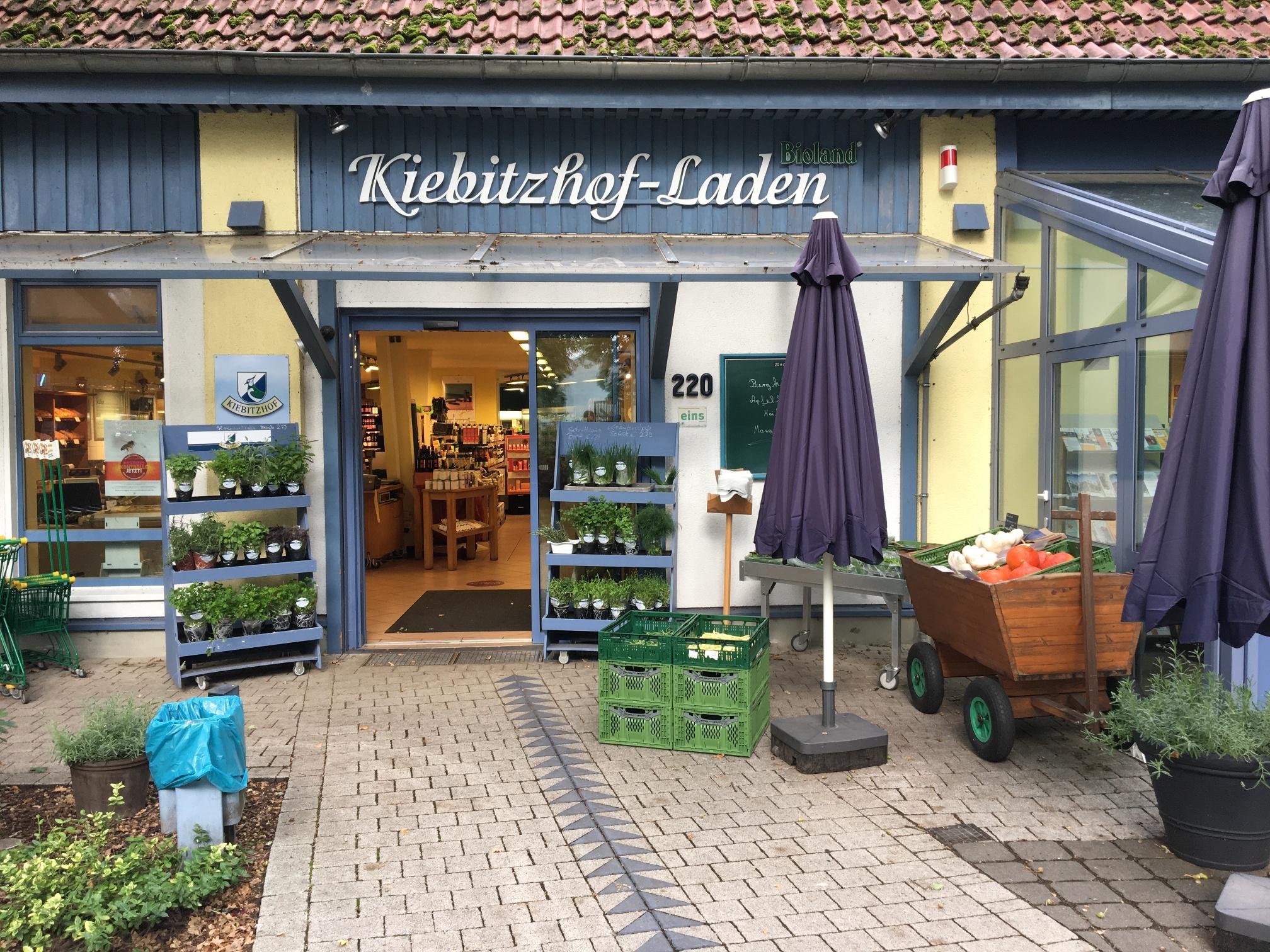 Der Kiebitzhof-Laden