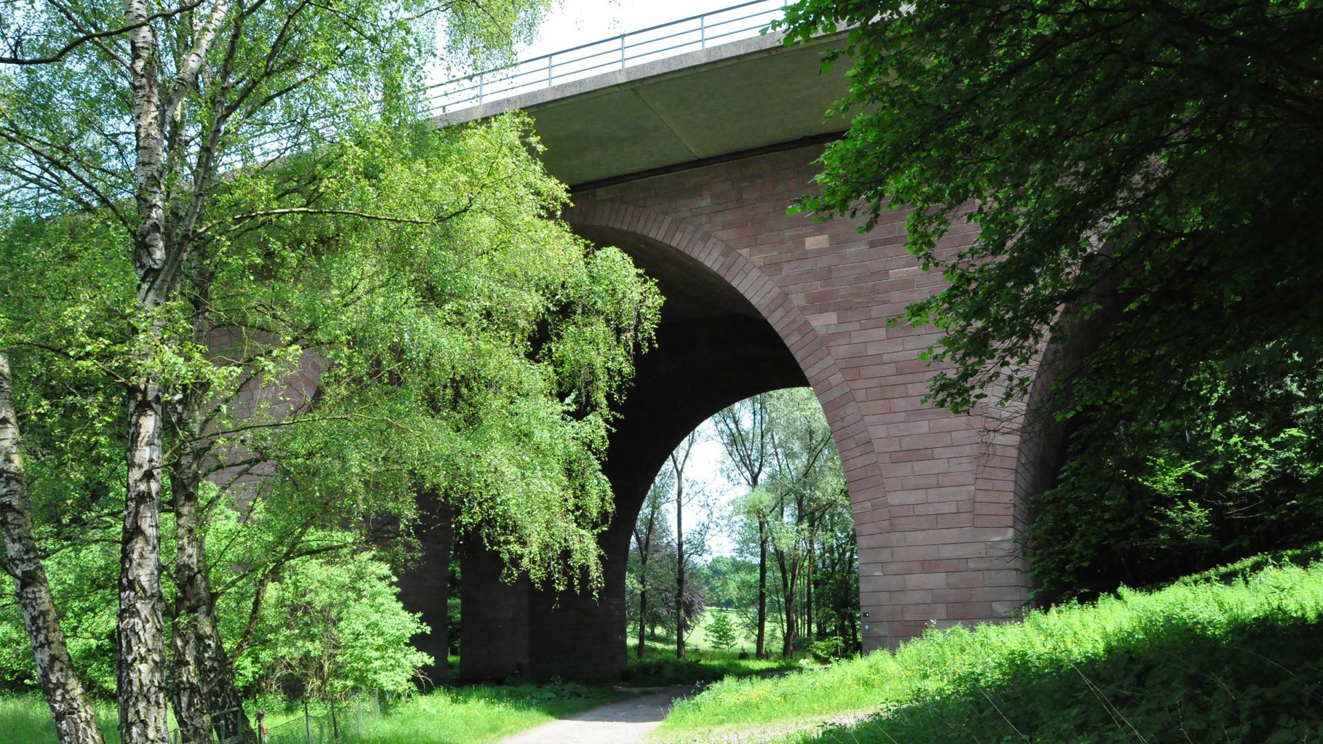 Die Finnenbachbrücke
