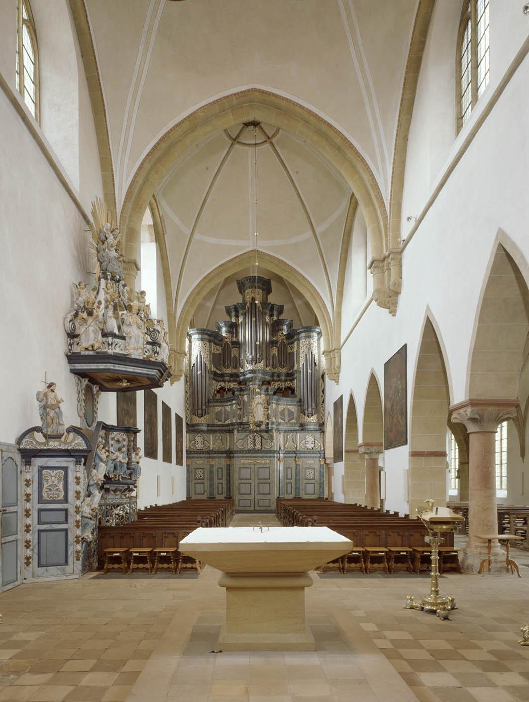 Ehemaliges Kloster Marienfeld: Innenansicht