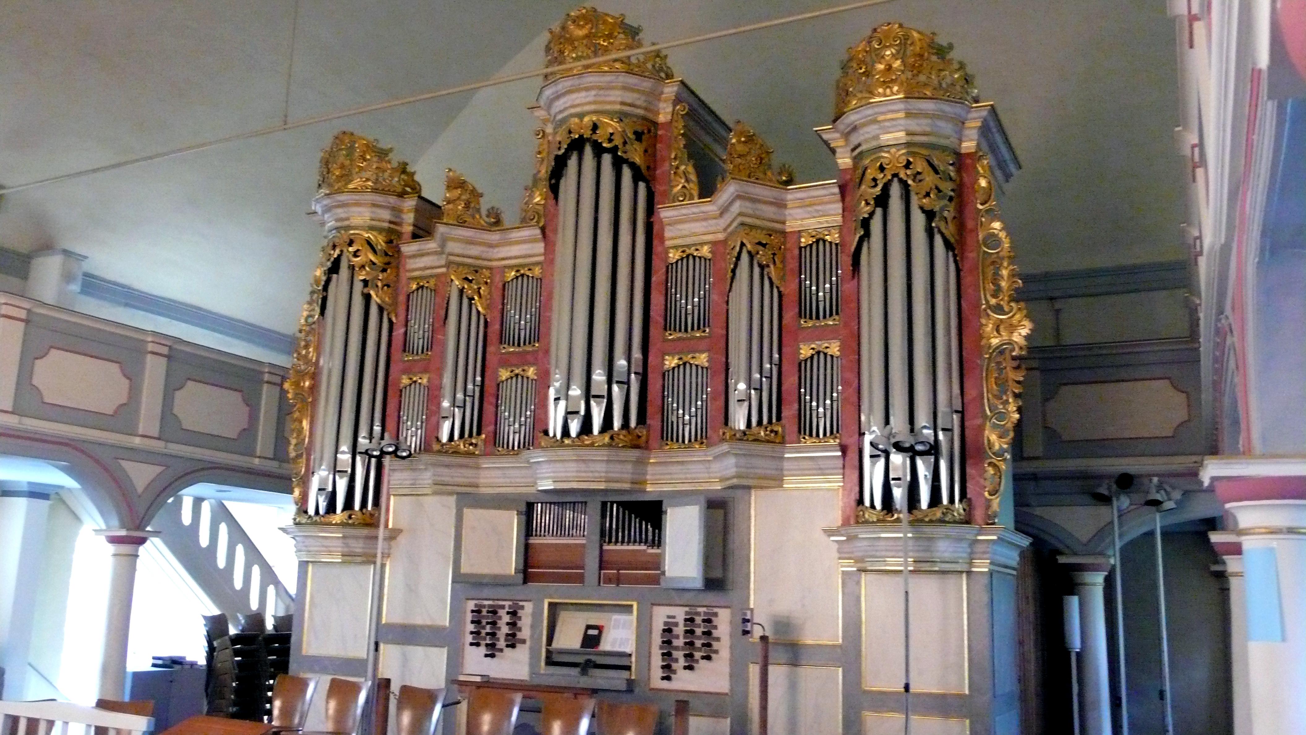 Christian-Vater-Orgel in der St. Nicolai-Kirche