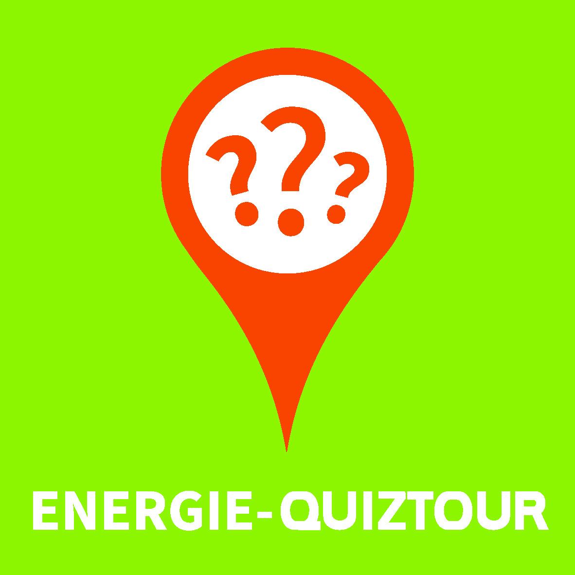 Wegmarkierung Energie-Quiztour
