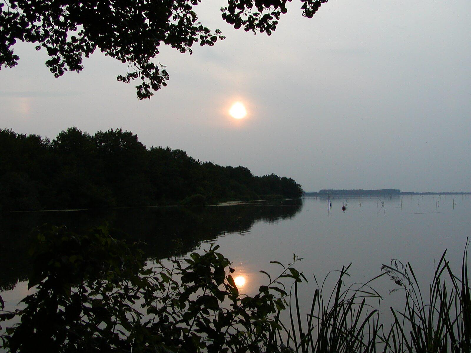 Abendstimmung am Hagenburger Kanal
