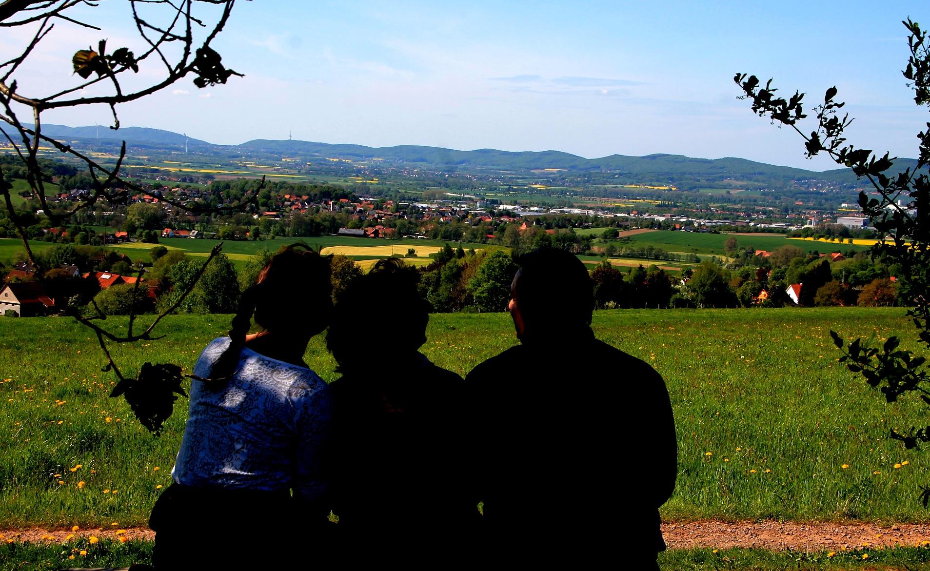 Aussichtsreich ins Weserbergland