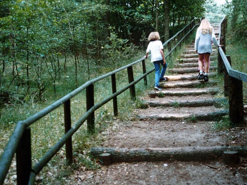 Treppe zur Emsquelle