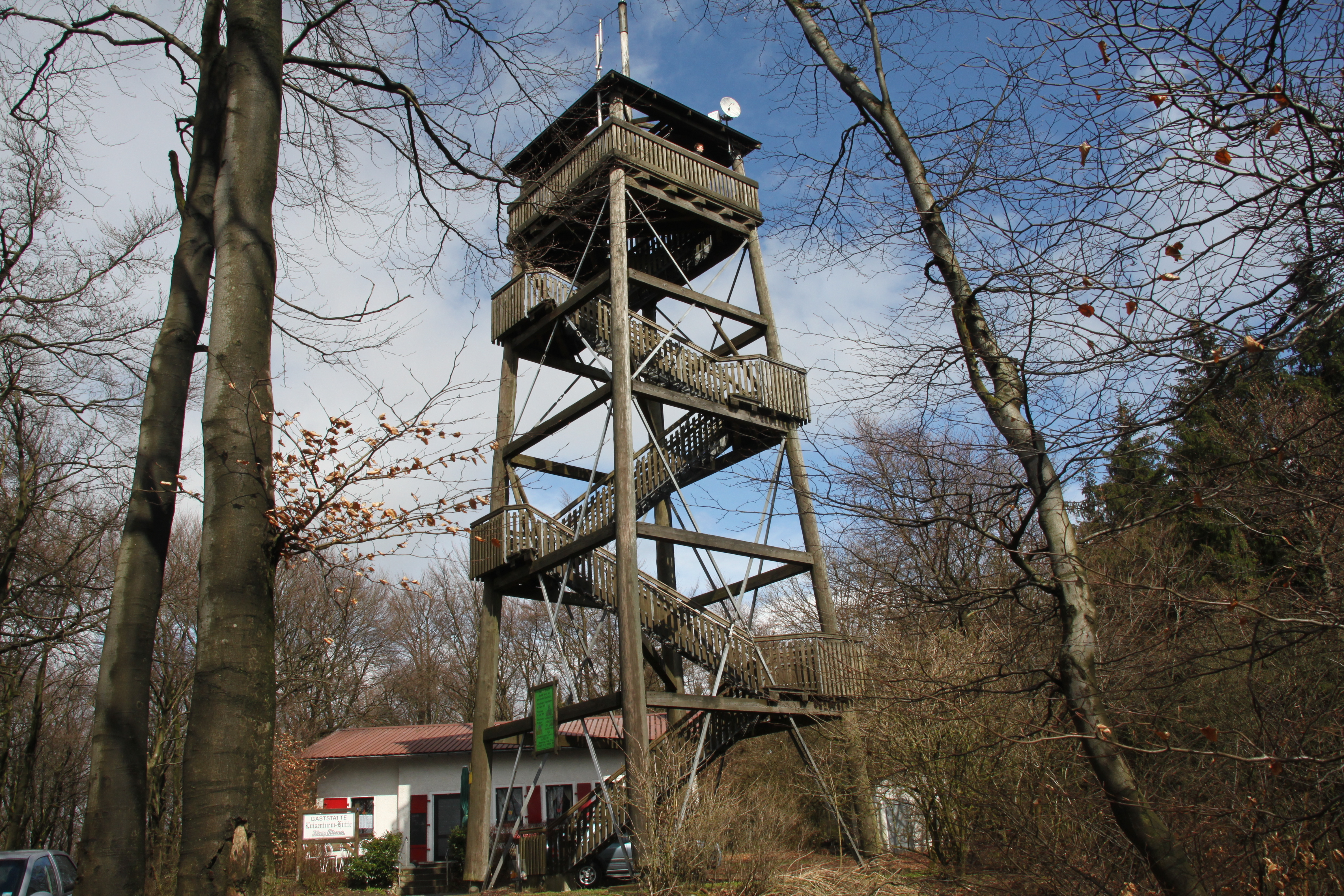 Der Luisenturm in Borgholzhausen