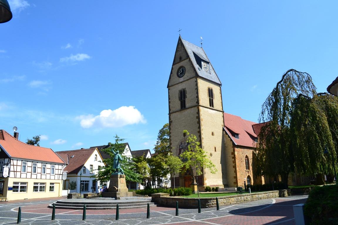 Kirchplatz Steinhagen