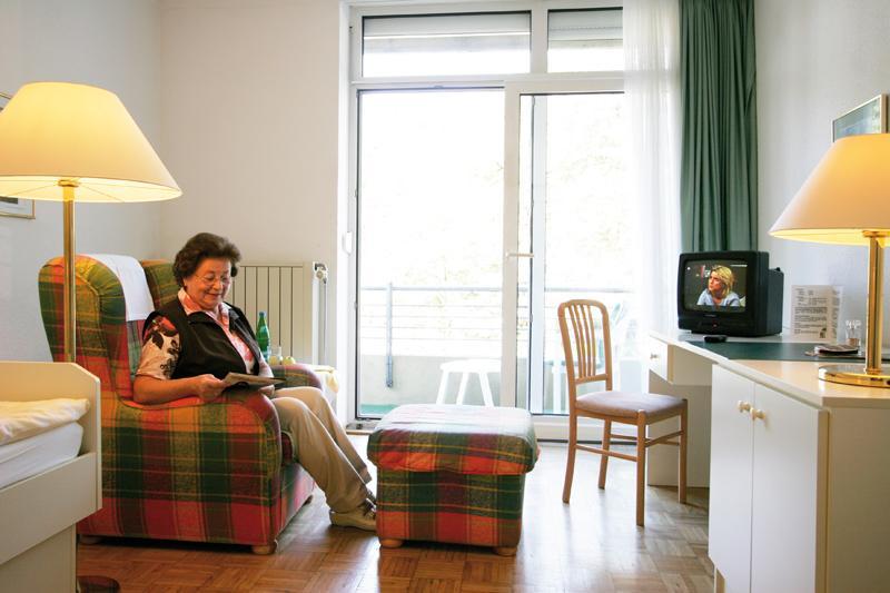 Zimmer in der Klinik Waldfrieden