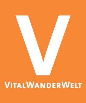 Markierungszeichen VitalWanderWelt orange