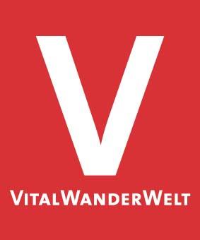 Markierungszeichen VitalWanderWelt rot