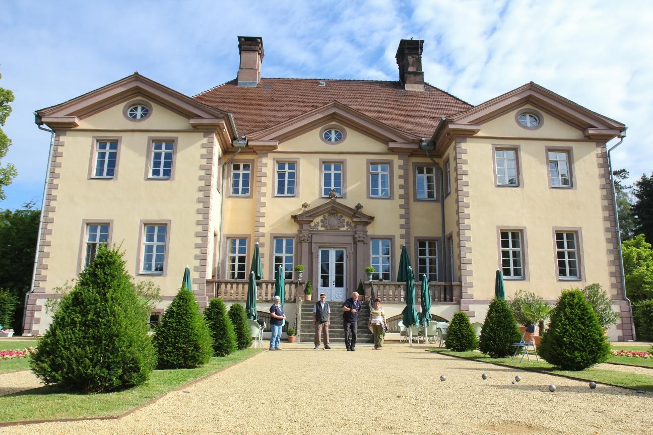 Schlosspark in Schieder-Schwalenberg