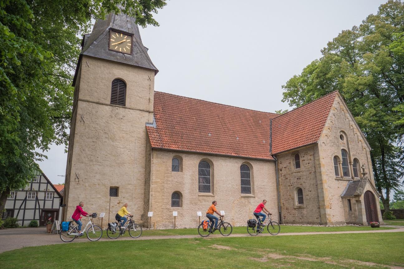 Grenzgängerroute Bockhorst Dorfkirche