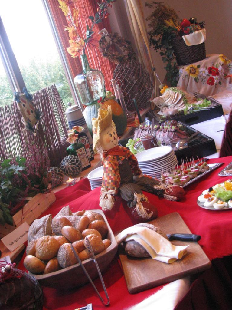 Buffet im Hotel Sonnenhof