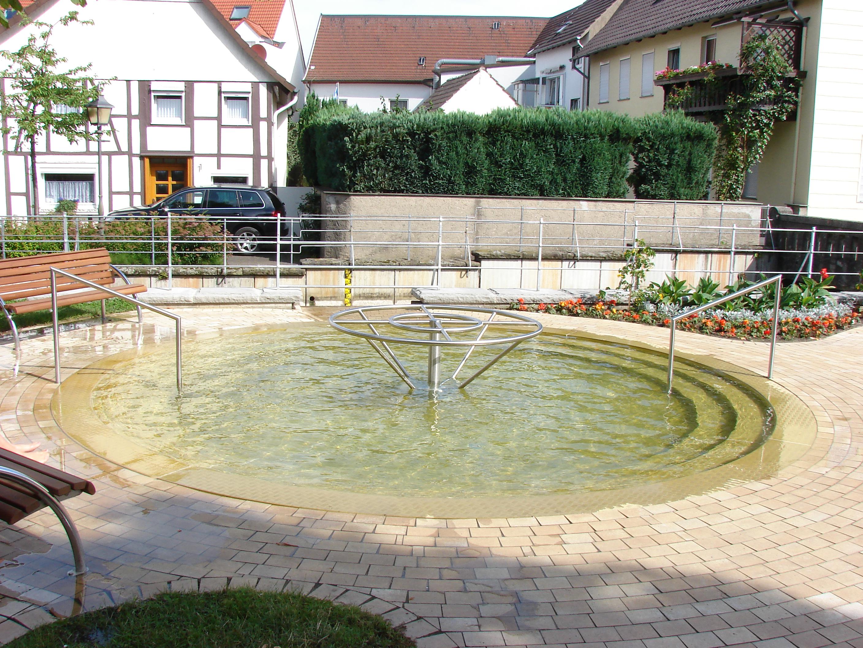 Wassertretbecken Bad Lippspringe