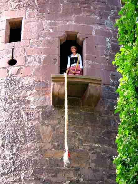 Rapunzel auf der Trendelburg