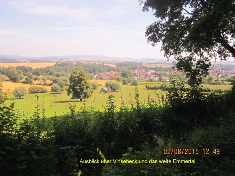 Vinsebeck mit Tal der Emmer
