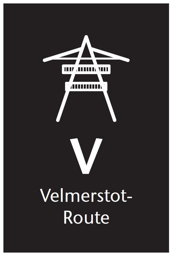 Markierungszeichen Velmerstot-Route
