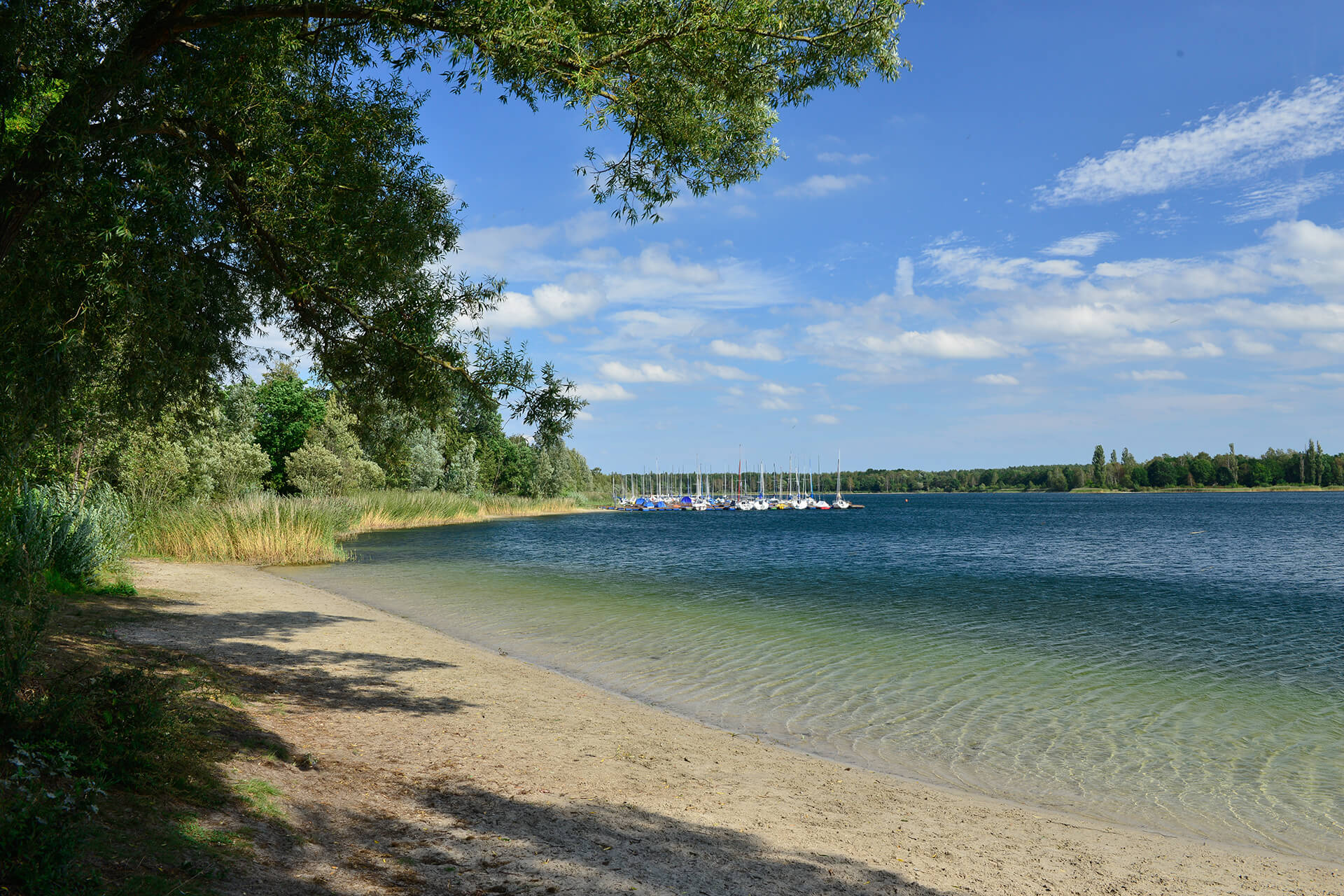 Boote am Tankumsee