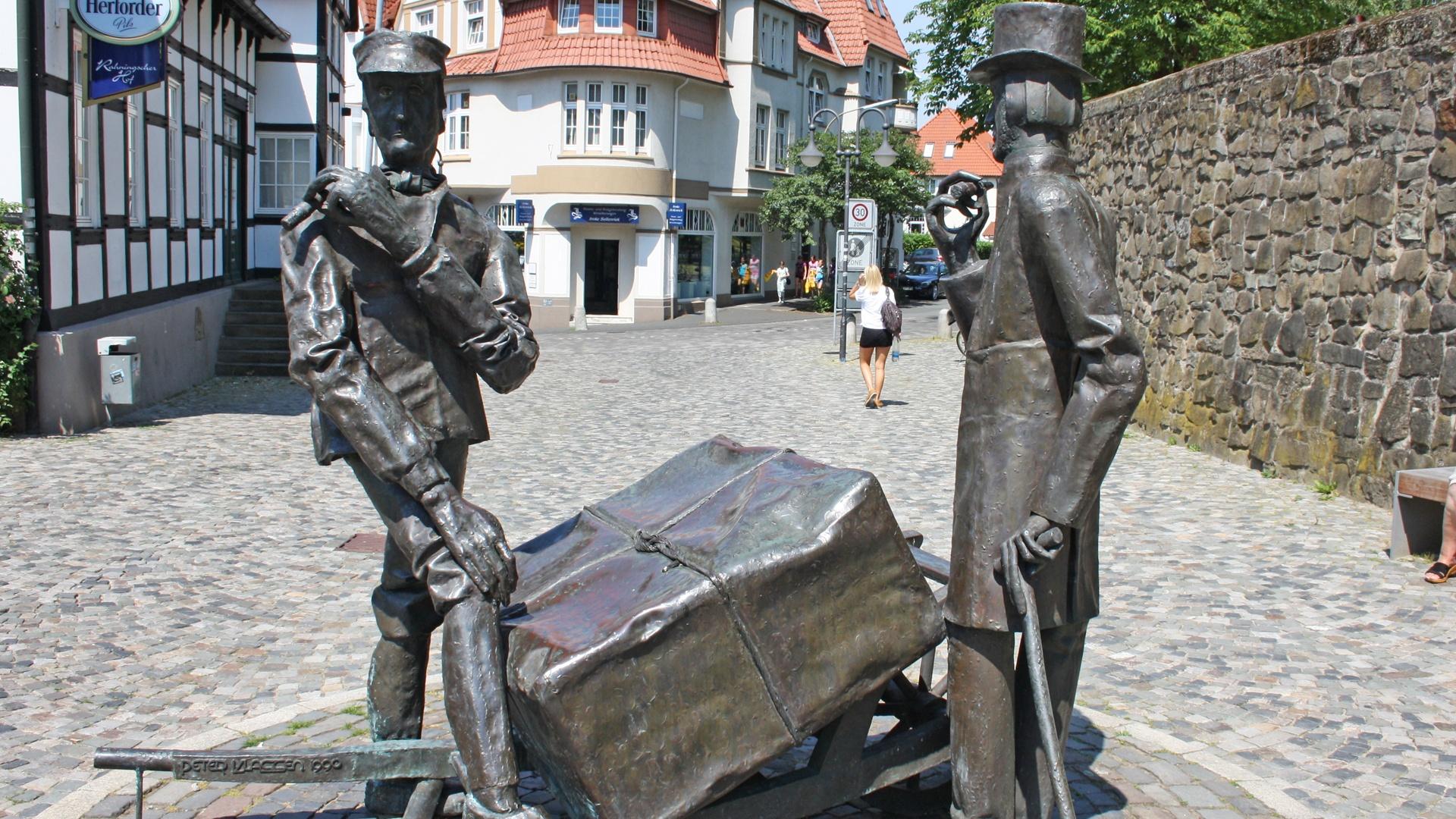 "Das ""Steinmeister & Wellensiek"" Denkmal"