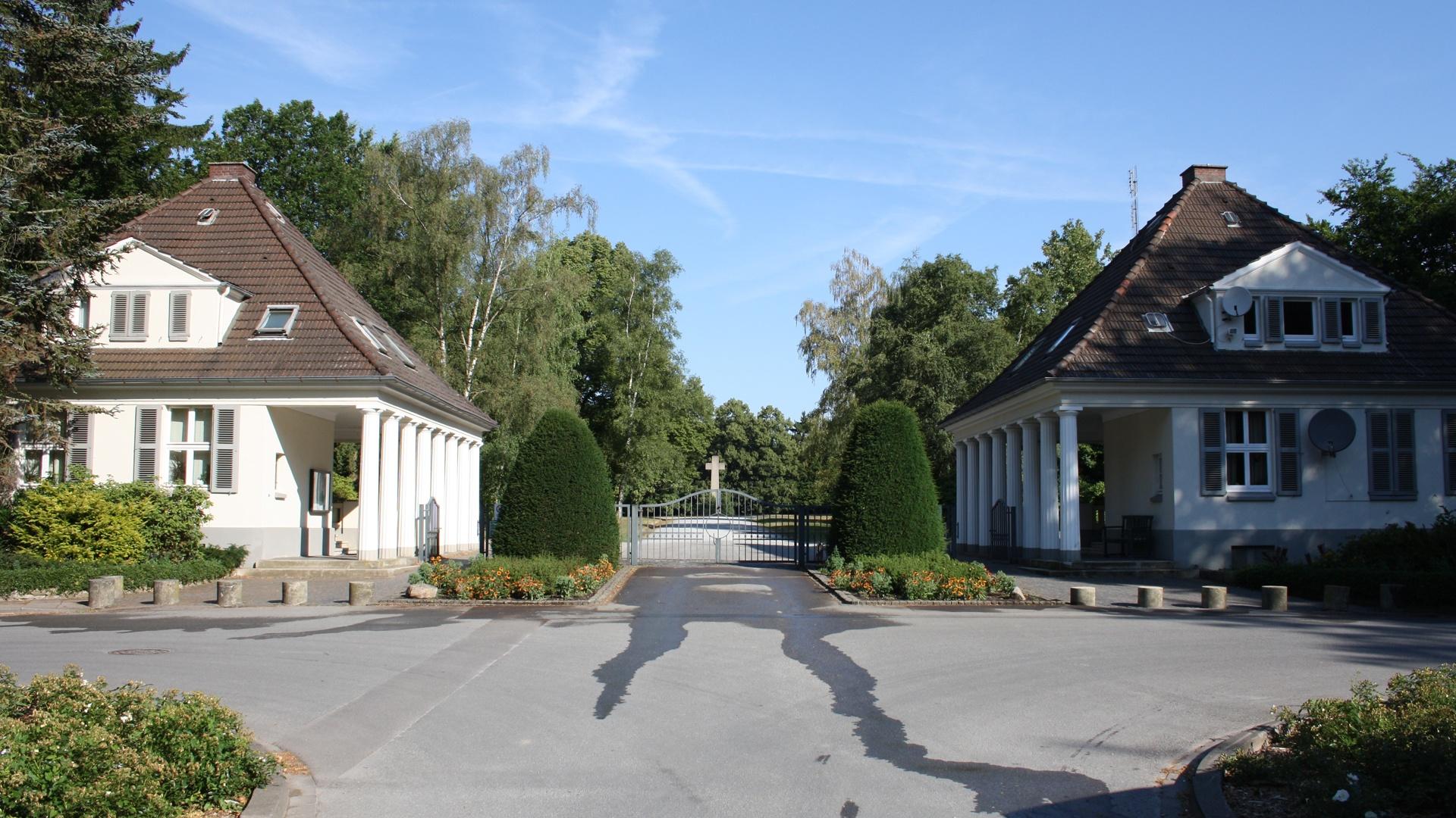 """Der Friedhof """"Ewiger Frieden"""""""