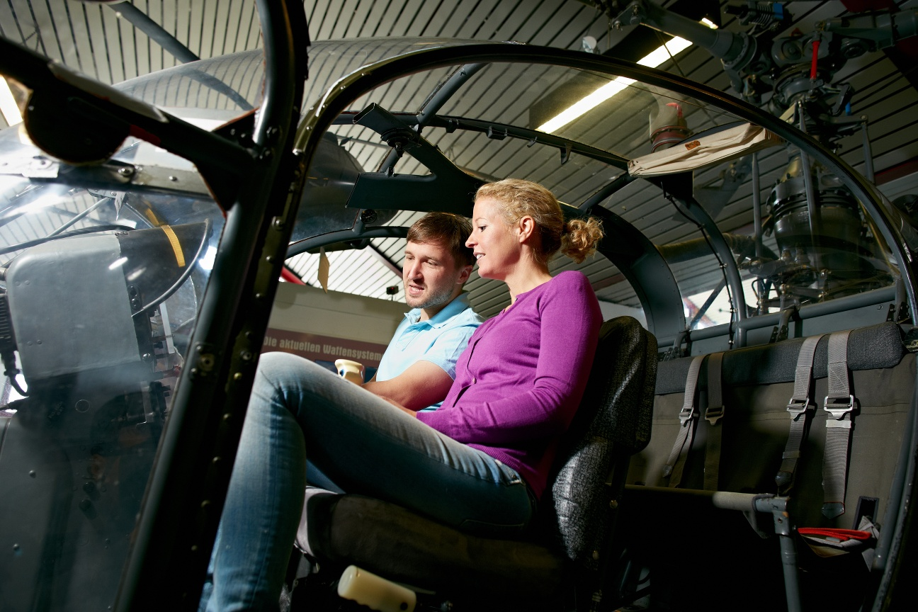 Hubschraubermuseum Bückeburg Pilotenkanzel