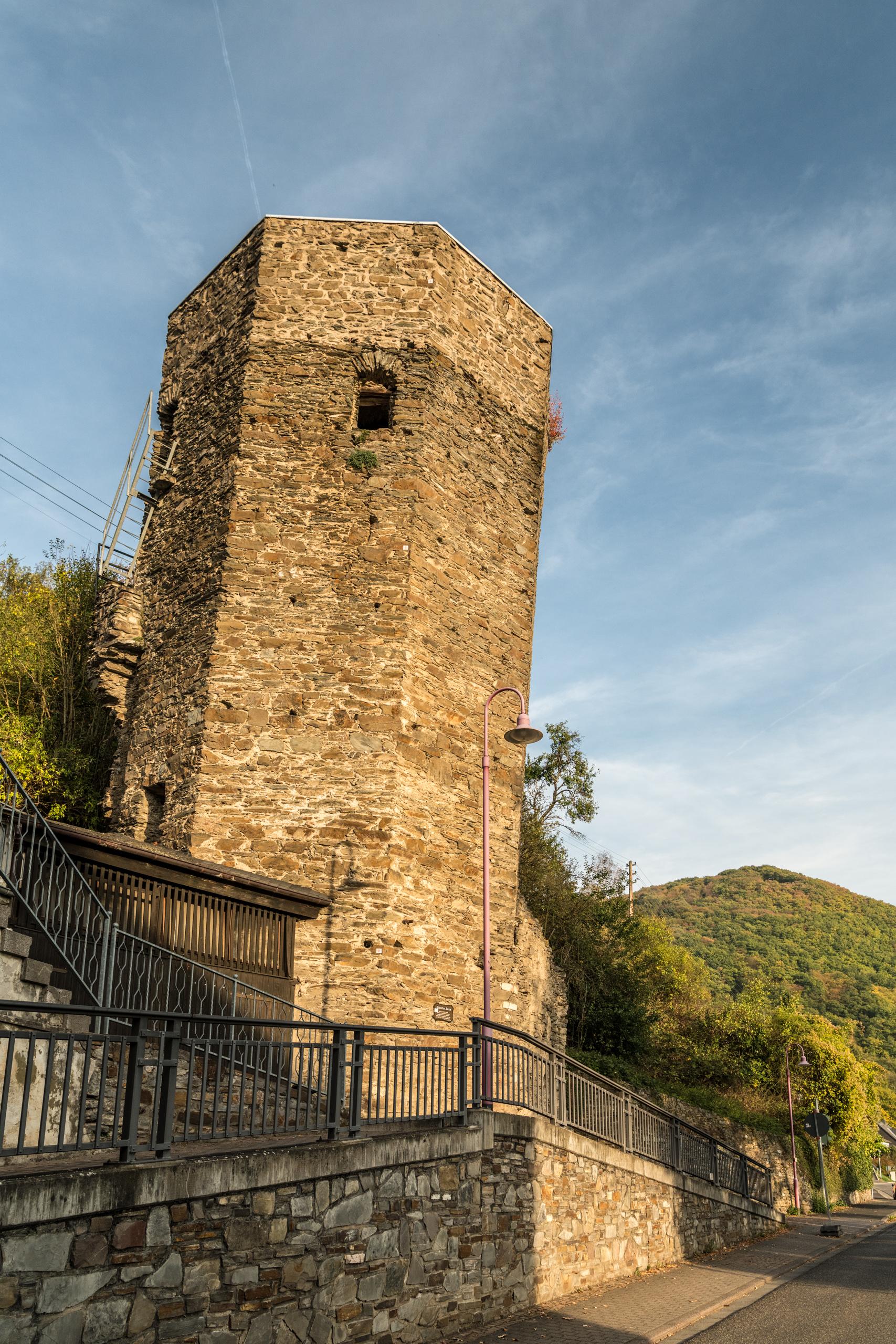 Schiefer Turm von Dausenau