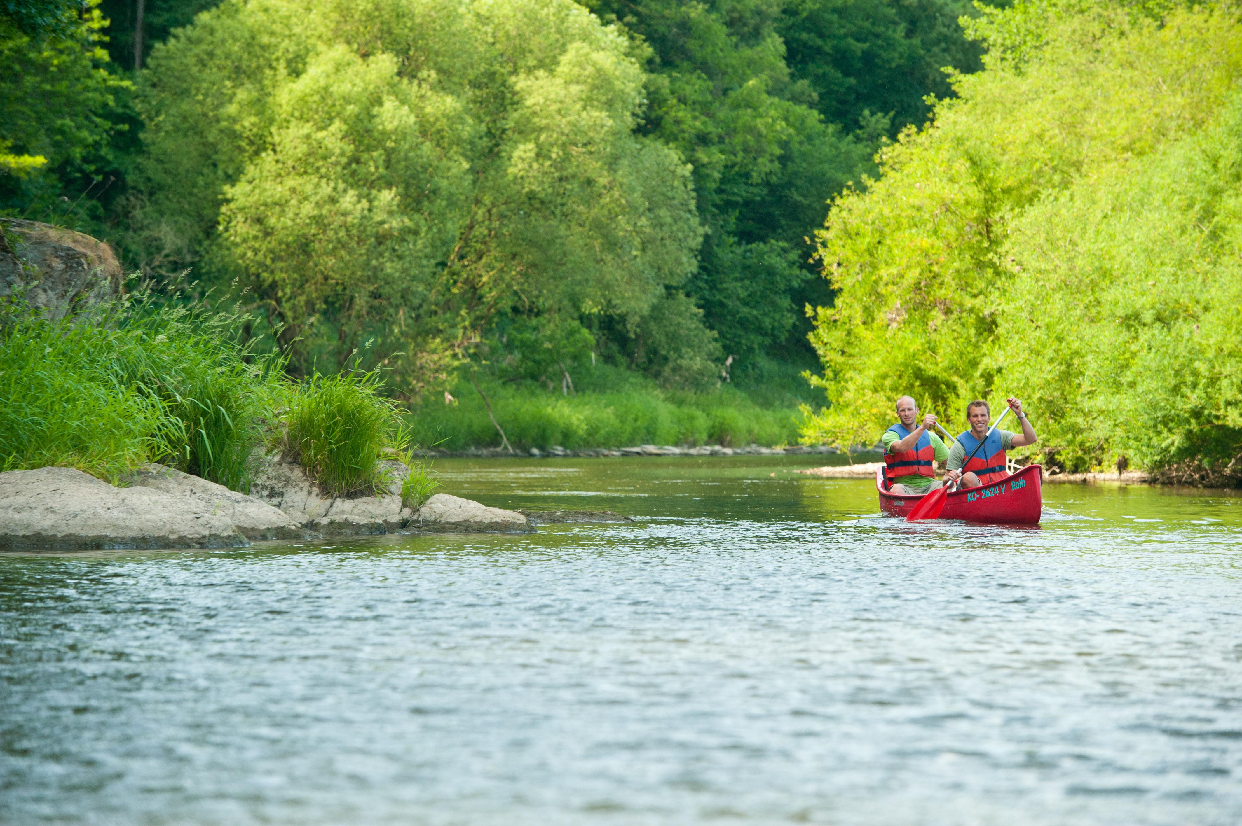 Einsamkeit auf dem Fluss