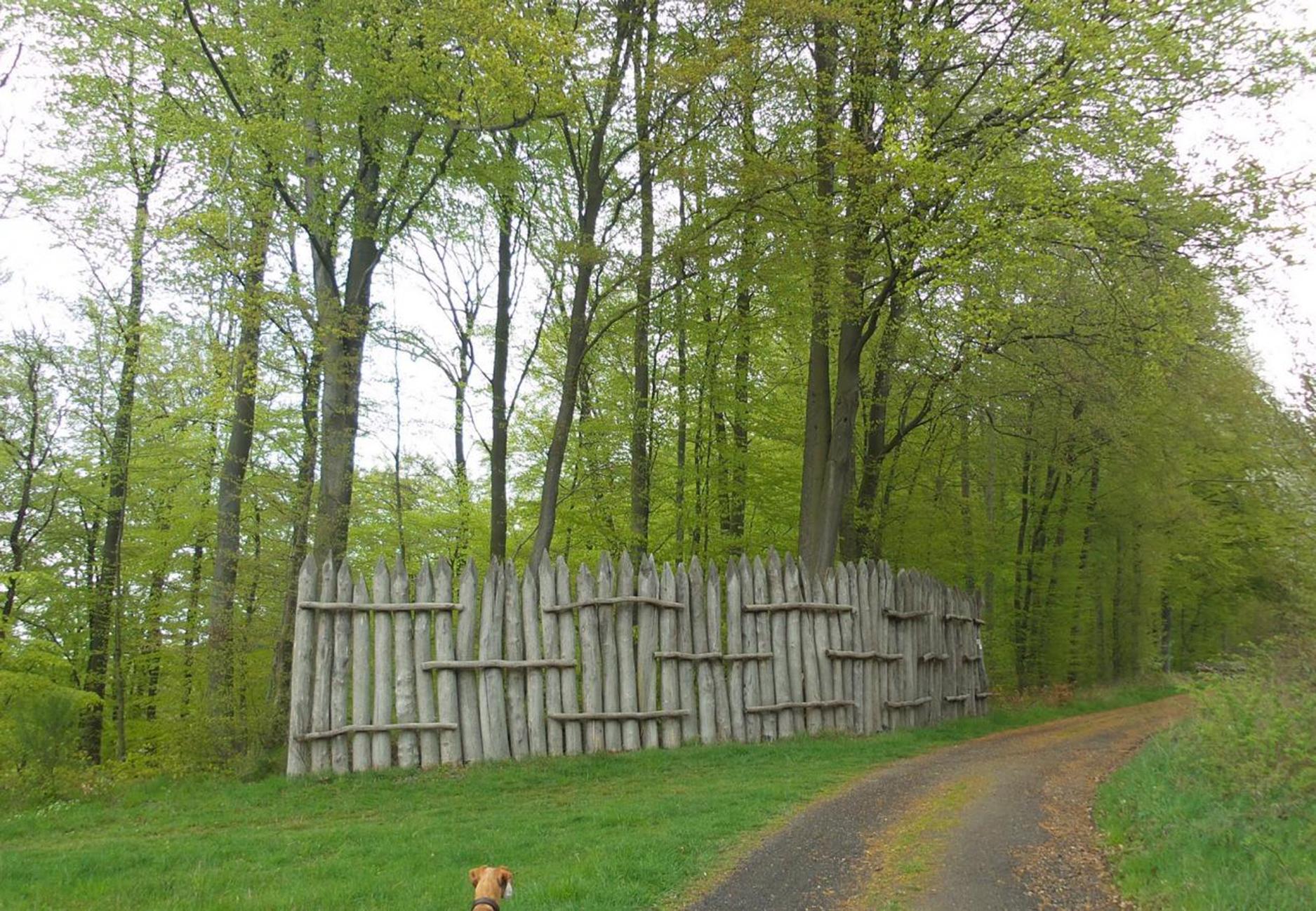 Rekonstruktion der Limesbefestigung