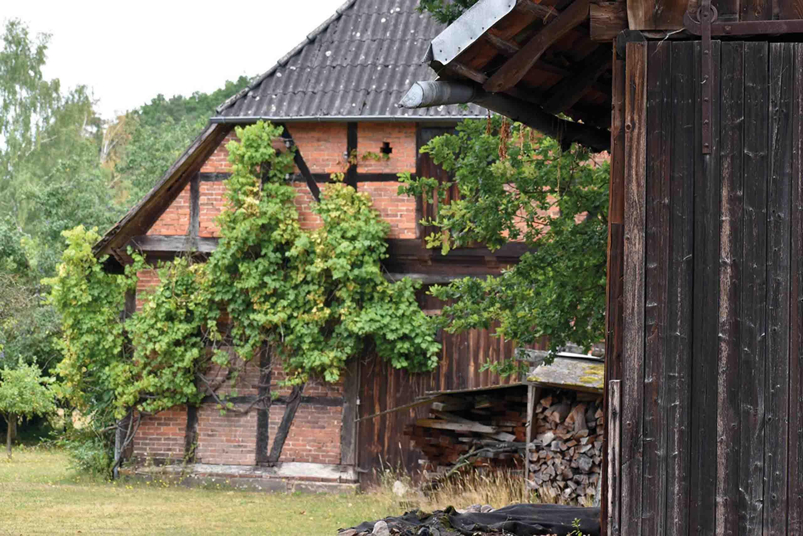 Prächtige, alte Bauernhäuser in Altencelle