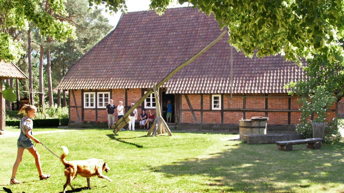 Der Winser Museumshof in Winsen (Aller)