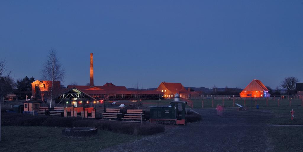 LWL-Industriemuseum Lage: Abendstimmung